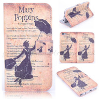 """Spoonful of Sugar Flip Wallet Fun Case for IPhone 6 4.7"""""""