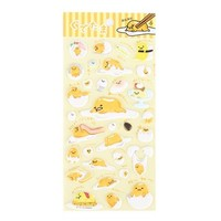 Gudetama Puffy Sticker Set: Poses