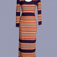 1970's Missoni Designer Dress - M MISSONI DESIGNER VINTAGE DRESS :