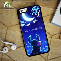 Hawaiian Culture In Stitch Peter Pan Flying Quote iPhone 6 Plus Case by Avallen