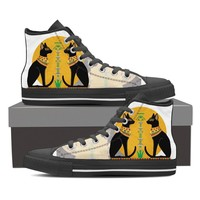Ancient Egyptian Cats Women Canvas Shoes