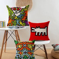 Keith Haring Pillow Cases