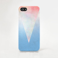 Iphone 6 case - triangle Pastel geometric iphone 6 case , Pastel iPhone case , iPhone 5 case