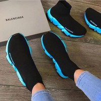 Balenciaga Speed High-end socks sneakers