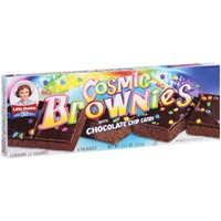 Little Debbie Snacks Cosmic Brownies With Chocolate Chip Candy, 6ct - Walmart.com