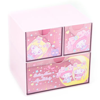 Sailor Moon x My Melody Drawer Chest