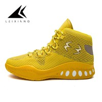 Yellow Red 2018 Basketball Shoes For Men High Top  Sports Cushion Sneakers Mesh Trainers Basket Zapatillas Big Size 39-45