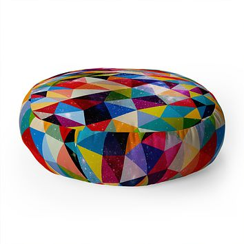 Fimbis Space Shapes Floor Pillow Round