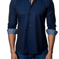 Jared Lang Trim Fit Woven Sport Shirt | Nordstrom
