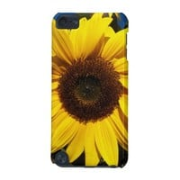 Sunny Sunflower iPod Touch 5G Cover from Zazzle.com