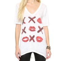 Chaser Tic Tac Kiss Tee