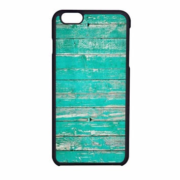 Teal Wood iPhone 6 Case