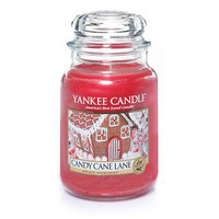 Candy Cane Lane : Large Jar Candles : Yankee Candle