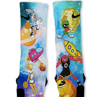Space Jam Customized Nike Elite Socks