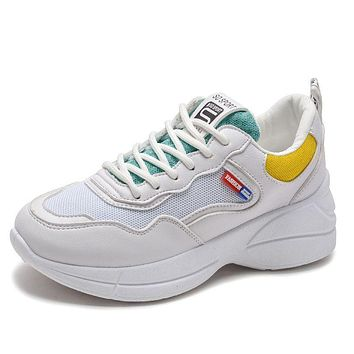 Hot Sale Summer Fashion Breathable Platform Sneakers Shoes