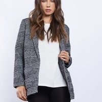 The Parisian Oversized Plaid Blazer