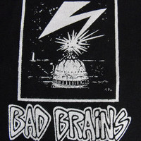 BAD BRAINS patch punk rock Free Shipping