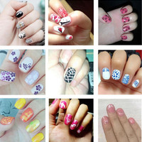 Nail Stamping Printing Plate Image Stamps Plate Manicure Nail Art Decor