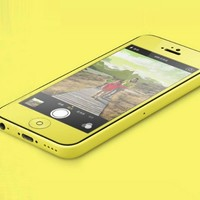 Colored Premium Tempered Glass Screen Protector for iPhone 5C 5S 5 Yellow