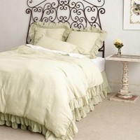 Linen Whisper Duvet by Anthropologie