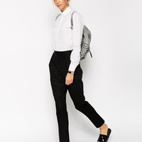 ASOS Tailored Jogger in Linen at asos.com