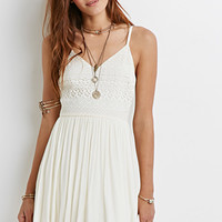 Crochet Cami Dress
