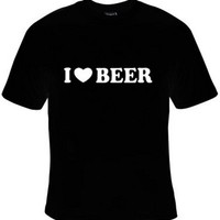 I Heart Beer (I Love Beer) T-Shirt Women's