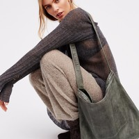 Free People Simply Leather Tote