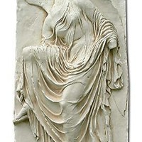 Nike from Acropolis Greek Relief from Acropolis, Two Sizes