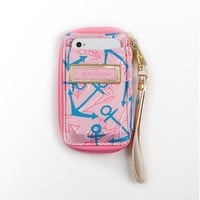 Lilly Pulitzer - Carded ID Wristlet- Delta Gamma