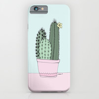 Cactus iPhone & iPod Case by Blue Jean Genie