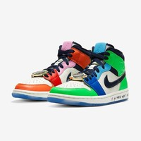 "Melody Ehsani x Air Jordan 1 Mid WMNS ""Fearless"" Sneakers - Best Deal Online"