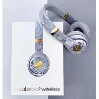 Beats Solos 3 Wireless Fashion New Solid Color Answer The Phone And Listen To Music Wireless Headphones