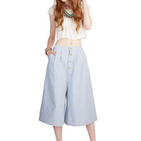 Kling Vintage Inspired High Waist Swinging in the Sun Culottes Pants