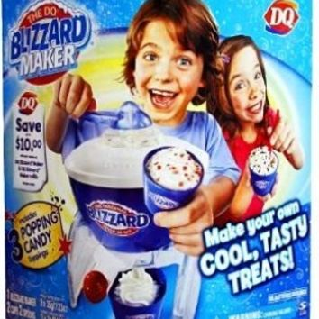 The DQ Dairy Queen EXCLUSIVE Blizzard Maker with 1 Extra Refill Pack!