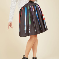 Make a Knight of It A-Line Skirt | Mod Retro Vintage Skirts | ModCloth.com
