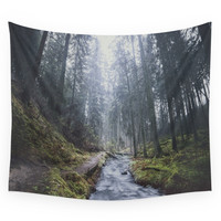 Society6 Damped Feelings Wall Tapestry