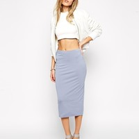 ASOS Pencil Skirt in Double Layered Jersey