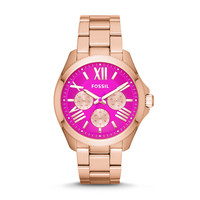 Cecile Multifunction Stainless Steel Watch – Rose Gold-Tone
