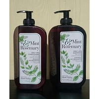 PHYTORELAX Mint & Rosemary Daily Use SHAMPOO & CONDITIONER 16.9 oz each