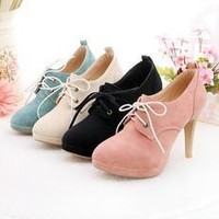 Womens Motorcycle Boots Faux Leather Pointed Toe Women Ankle Boots Casual Ladies Autumn Ankle Strap Booties Shoes [8789877639]