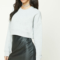 Boxy Cropped Sweatshirt