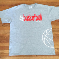 #Basketball T-shirt