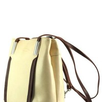 LIDIA HOBO SHOULDER-BACKPACK LEATHER BAG