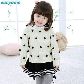 Baby Girl Clothes Sweaters And Cardigan Sleeve Baby Knitwear