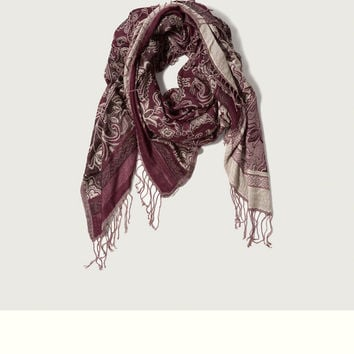 A&F Woven Scarf
