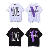 DCCK a Vlone Casual Fashion Skateboard T Shirt