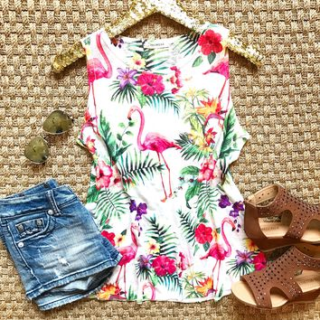 Tropical Vibes Top