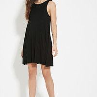 Crisscross-Back A-Line Dress