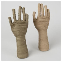 Halloween Mummy Hand Table Decor - 12""